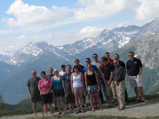 wonky Alps group shot