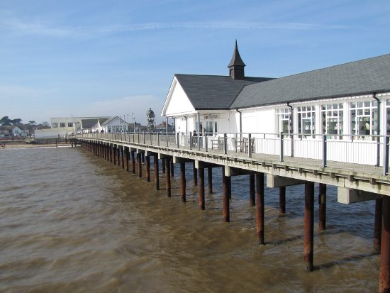 view from the end of the pier