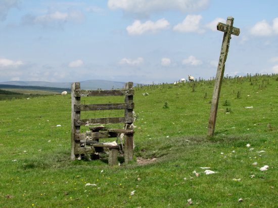 a stile, but no fence