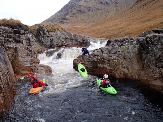 swimming Triple on the Etive