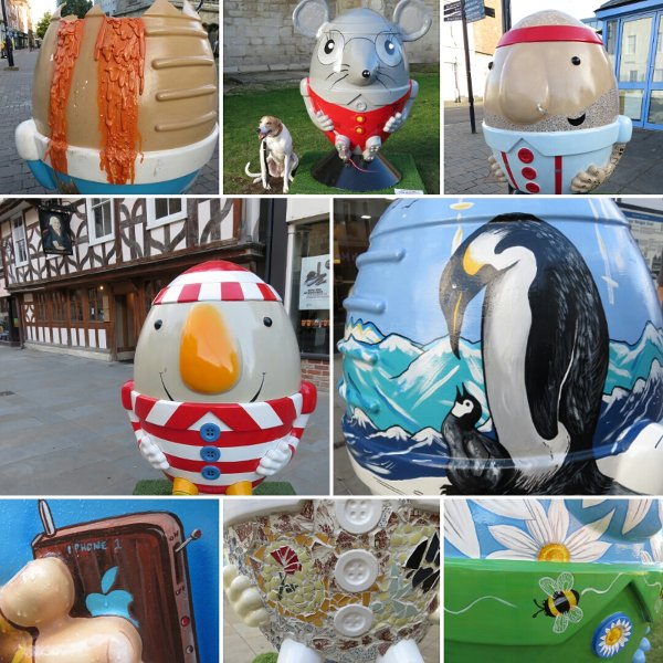 a collage of scrumpty photos