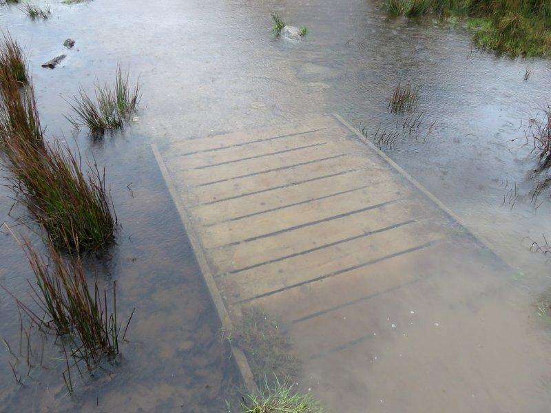 path under water
