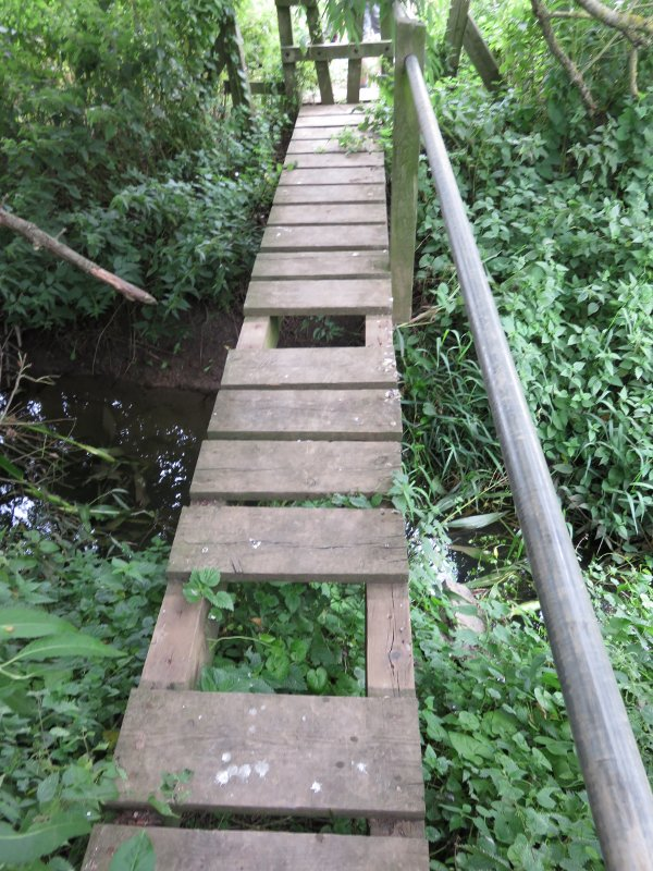 dodgy footbridge