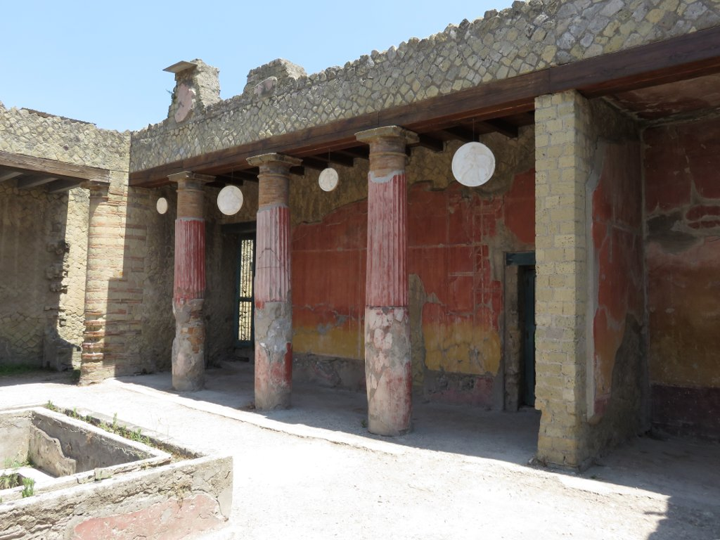 inside of a building in Herculaneum
