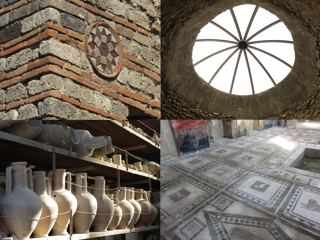 pompeii mosaics and decoration