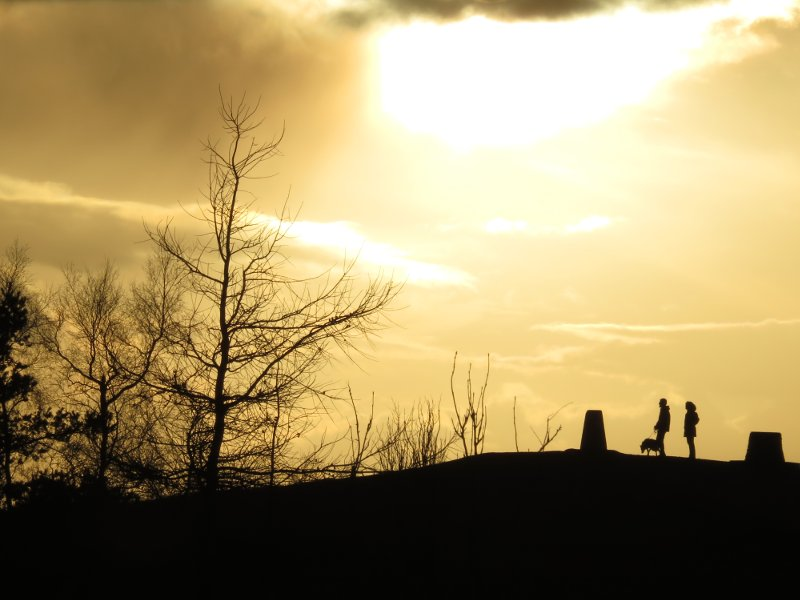 trig point silhouette