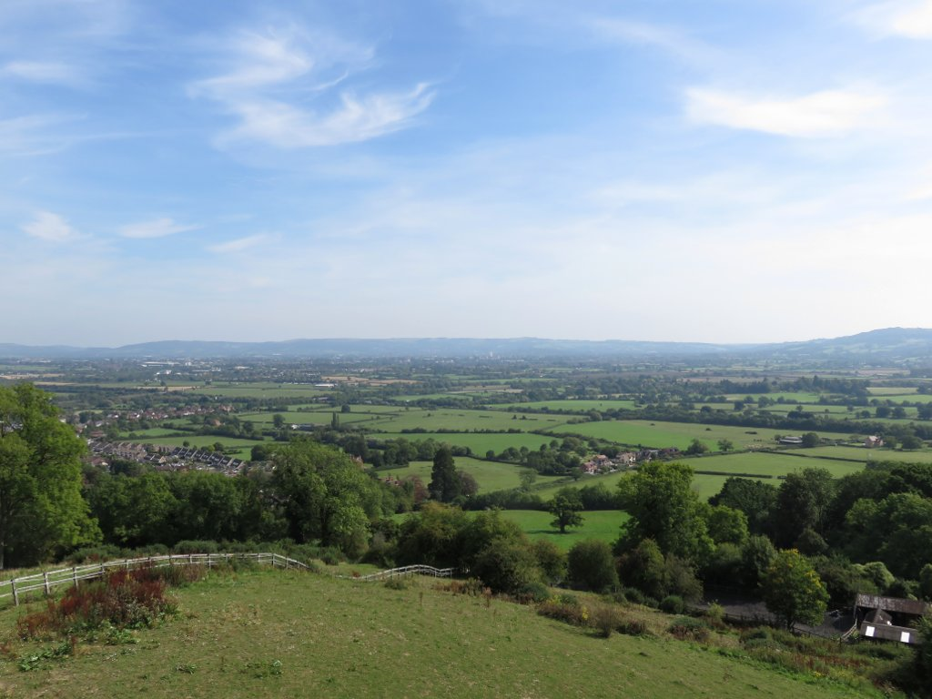 view from churchdown hill