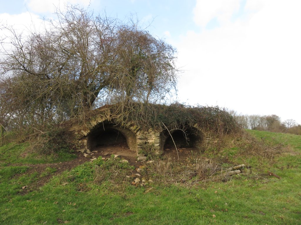 lime kilns near Woolhope