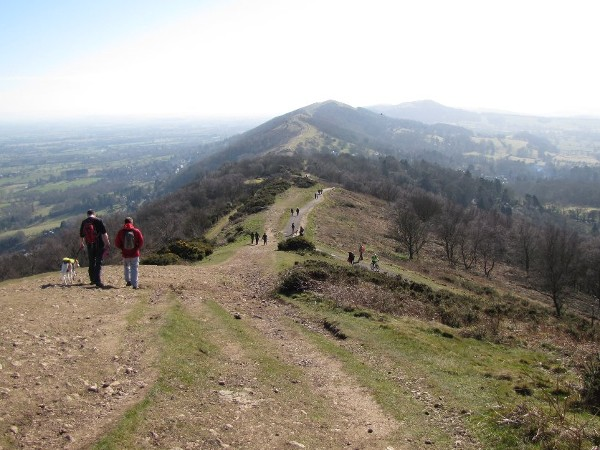 walking on the Malverns